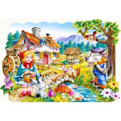 02030.Puzzle 20 Punamütsike ja hunt