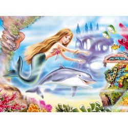 12275. Puzzle 120 Little Mermaid