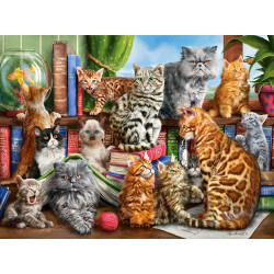 200726. Puzzle 2000 House of Cats