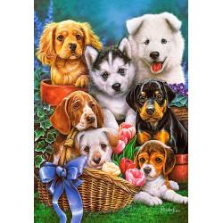 104048. Puzzle 1000 Puppies