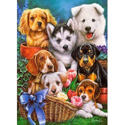 030323. Puzzle 300 Puppies