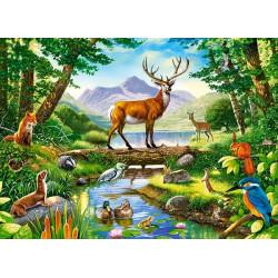 030408. Puzzle 300 Woodland Harmony