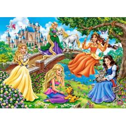 070022. Puzzle 70 Princesses in Garden