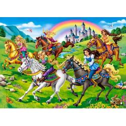 111053. Puzzle 100 Princess Horse Ride