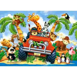 040131. Puzzle 40 Softies on Safari