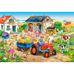 040193. Puzzle 40 Life on the Farm
