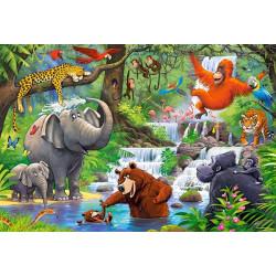 040315. Puzzle 40 Jungle Animals