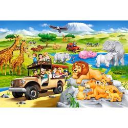 040322. Puzzle 40 Safari Adventure