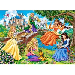 18383. Puzzle 180 Princesses in Garden
