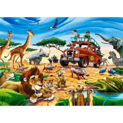 18390. Puzzle 180 Safari Adventure