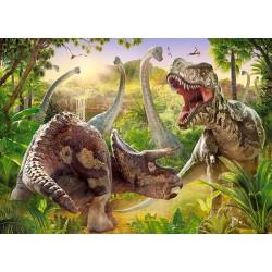 18413. Puzzle 180 Dinosaur Battle