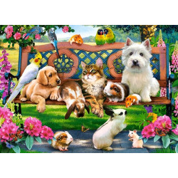 18444. Puzzle 180 Pets in the Park