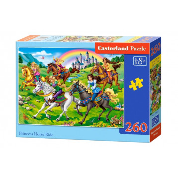 27507. Puzzle 260 Princess Horse Ride