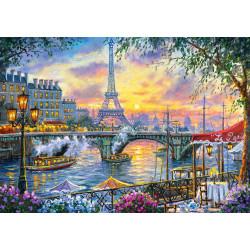 53018. Puzzle 500 Tea Time in Paris