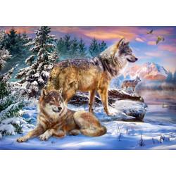 53049. Puzzle 500 Wolfish Wonderland