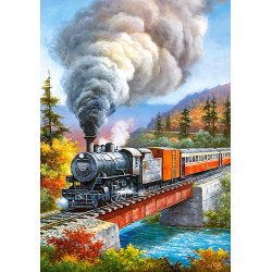 53216. Puzzle 500 Train Crossing