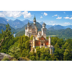 Puzzle 500 View of the Neuschwanstein Castle, Germany 53544