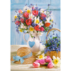 Puzzle 500 SPRING IN FLOWER POT 53520