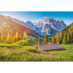 Puzzle 500 Summer in the Alps 53360