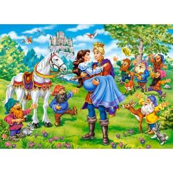 Puzzle 120 Snow White - Happy Ending 13463