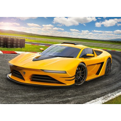 Puzzle 120 Yellow Sportscar 13500