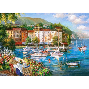 Puzzle 500 Harbour Of Love 53414