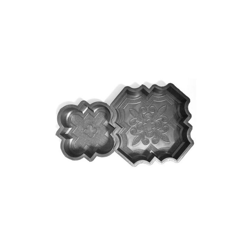 PLASTVORMID ORIENT Suur + Väike 29,5x29,5 21x21x4,5cm 1/3