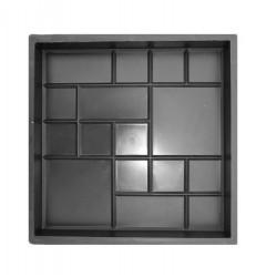 PLASTVORM PLAAT 25x25x2,5cm 71/2 (17/1)