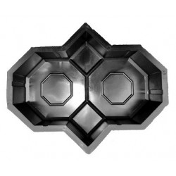 13/1 PLASTVORM KAHEKSANURK  28,5x23,0x6,0cm