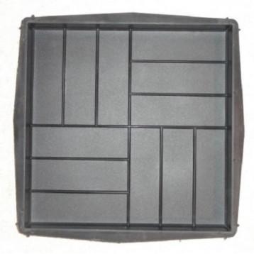 PLASTVORM PLAAT 50x50x5cm (parkett krobeline) 72/13