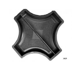 PLASTVORM RIST RINGI VAHELE(2poolikut) 25x25x4,5cm 20/5