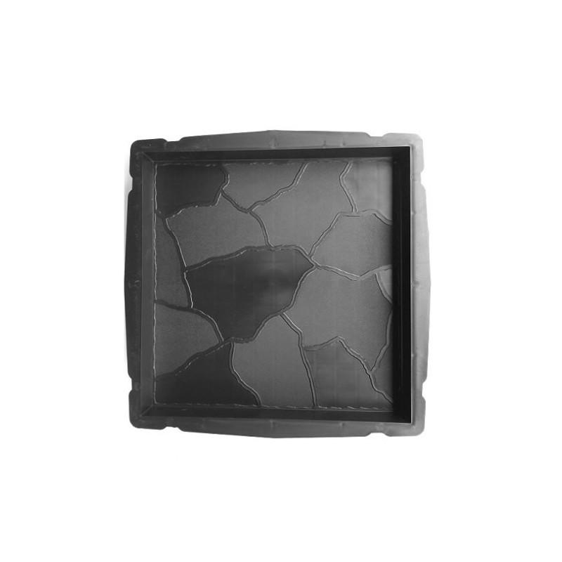PLASTVORM PLAAT  35x35x4cm (kivi sile-krobe)