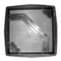 PLASTVORM PLAAT 40x40x5cm 72/6 6F