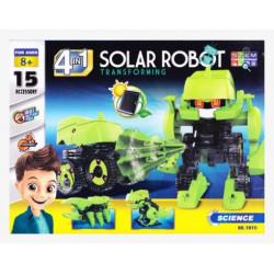 KONSTRUKTOR PÄIKESEPATAREIGA SOLAR ROBOT 4in1 12114