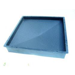 92-1.PLASTVORM MÜTS POSTILE  39,0 x 39,0 x 6,5cm