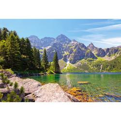 102235.Puzzle 1000 Morskie Oko järv, Tatra