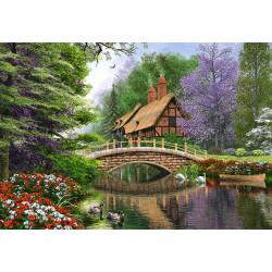 102365.Puzzle 1000 River Cottage
