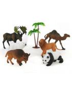 Loomadega mängukomplektid